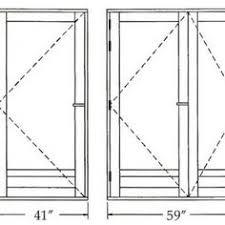 Standard Door Width Exterior Interior Doors Sizes Chart Http Lindemedicalwriting