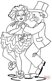circus actors coloring page free printable coloring pages