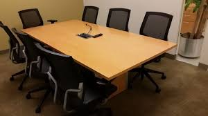 used conference room tables used teknion conference table 7x3 7 used office furniture