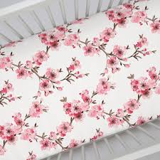 Floral Crib Bedding Sets Floral Crib Sheets Fitted Sheet For Cribs Carousel Designs