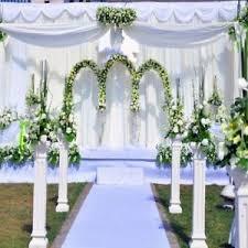 wedding backdrop ebay wedding stage 8x8ft flower pillar studio props background