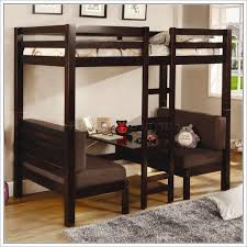 Bunk Bed With Table Underneath Double Bunk Beds With Desk Underneath Giường Treo Pinterest
