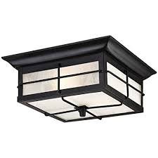 Outdoor Flush Mount Ceiling Light Outdoor Flush Mount Lighting Amazon Com