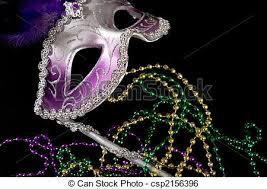 purple mardi gras mardi gras mask an a purple mardi gras mask or stock