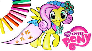 my little pony color book diy my little pony coloring book arts for kids how to color