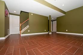 Flooring For Basement Floors by Larger Tiles Digital Imaging Influencing Floor Designs