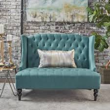 High Back Tufted Loveseat Mid Century Sofas Couches U0026 Loveseats Shop The Best Deals For