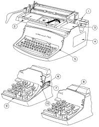 underwood standard typewriter repair ames basic repair training