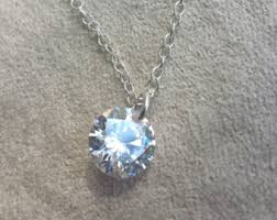 blue cubic zirconia necklace images The original seed pearl necklace sterling silver or gold fill jpg