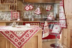 linge de cuisine de maison collection monte bianco ensemble de linge de cuisine