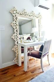 makeup vanity table without mirror desk with mirror for makeup vanity desk without mirror stylish table
