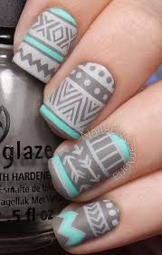 65 winter nail art ideas winter nails dark grey and dark