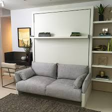 Folding Bed Wall Murphy Bed Sofa Smart Wall Beds Combo With Regard To