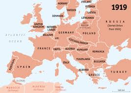 miscellaneous ap european history world war i documents in map of