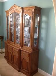 China Cabinet And Dining Room Set Furniture Overstuffed Living Room Furniture Thomasville Dining