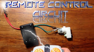 how to make a remote control circuit youtube