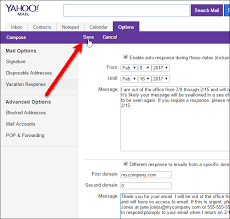 mail yahoo basic how to set up an out of office reply in yahoo mail