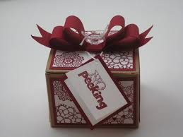 gift boxes with bow stin all and easy gift box with a paper bow