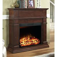 62 cherry electric fireplace grand ideas media console