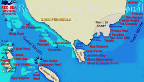 Map Of The Red Sea Red Sea Liveaboard Diving Safaris In The North Red Sea Sharm El