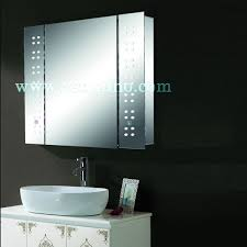 Bathroom Mirror Cabinets With Led Lights by Stylish Illuminated Bathroom Mirror Cabinet With Led Light Buy