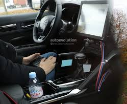 renault talisman 2017 interior spyshots 2017 renault d segment crossover shows interior for the