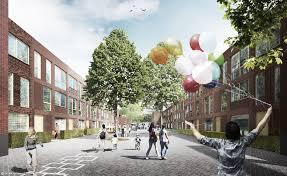 Urban Vegetable Garden by Rotterdam U0027s New Parkstad Development Puts Urban Parks On Every