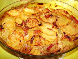 cuisiner pommes de terre recette pommes de terre à la boulangère 750g