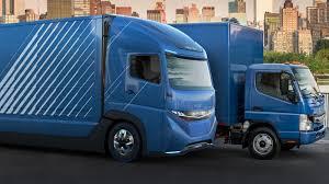 luxury semi trucks daimler vision one electric semi truck promises 215 miles of range