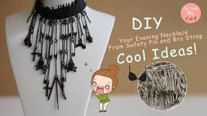 Diy Hacks Youtube by Diy How To Make Jewelry From Recycled Safety Pins Life Hacks Craft