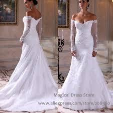 popular drop shoulder wedding dresses buy cheap drop shoulder