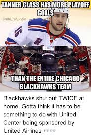 Blackhawk Memes - tanner glass has more playoff goals ref logic thanthe entire chicago