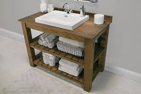 Furniture For Bathroom Vanity Rustic Bathroom Vanity Buildsomething
