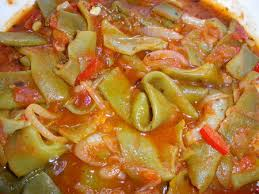cuisiner des haricots plats mes haricots plats à la tomate cuisine de nous
