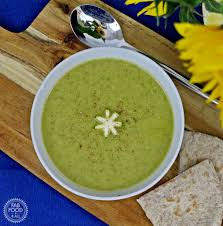 cuisin courgette caramelised courgette soup fab food 4 all