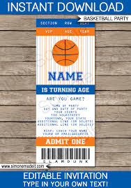 March Madness Decorations Basketball Party Invitations U2013 Gangcraft Net