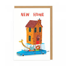 new home animals greeting card ohh deer