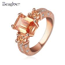 aliexpress buy beagloer new arrival ring gold beagloer new arrival ring gold silver color cz zircon