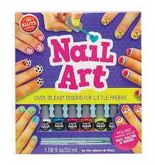 amazon com klutz nail art craft kit the editors of klutz toys