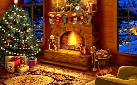 virtual fireplace christmas stovers