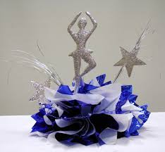 Sweet 16 Table Centerpieces Ballerina Star Centerpiece