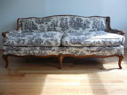 French Provincial Sofa by Toile De Juoy French Provincial Style Sofa