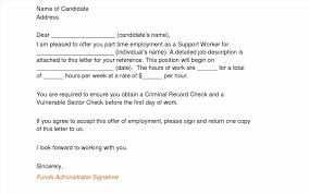 employment offer letter template letter for employment photo lab