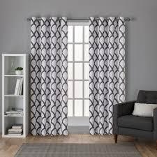 Ruffle Blackout Curtains White Ruffle Blackout Curtains Wayfair Ca