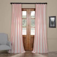 Navy And Pink Curtains Stripe Curtains U0026 Drapes Shop The Best Deals For Nov 2017