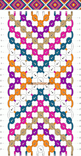bracelet instructions string images Normal friendship bracelet pattern 2146 gif