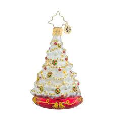christopher radko little gems radko winter spruce majesty