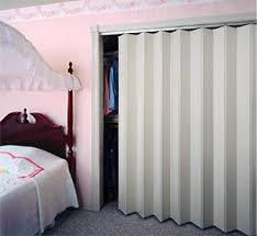 Vinyl Accordion Closet Doors Accordion Folding Doors And Room Dividers For Home Or Business