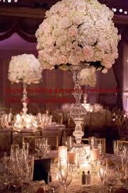 20pcs top grade full crystal glass wedding centerpiece wedding