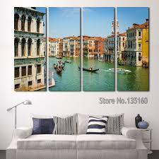 aliexpress com buy modern home decor wall painting set city